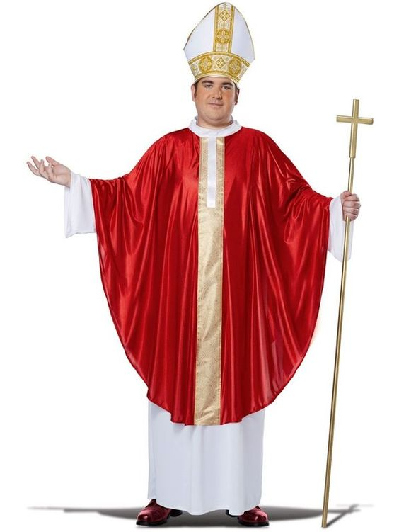 Check out Mens Plus Size Pope Costume - New for 2016 Costumes from Costume Super Center