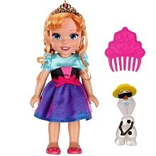 Poupée La Reine des Neiges - Anna 15cm + Olaf