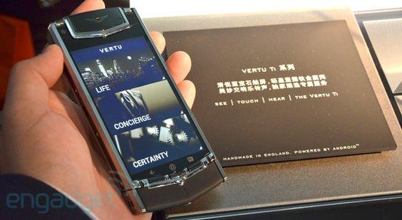 Vertu Ti luxury phone lands in Hong Kong we go hands on video