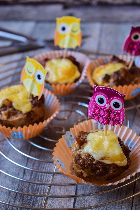 Laugen-Hackfleisch Muffins mit Käse- ein Partykracher | Muffins