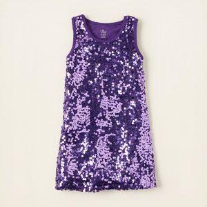 Children\'s Place, Sequin Dress -- Wow! For your little Beyonce, lol. (via #spinpicks)