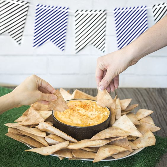 Gluten free homeade tortilla chips are a game day favorite!