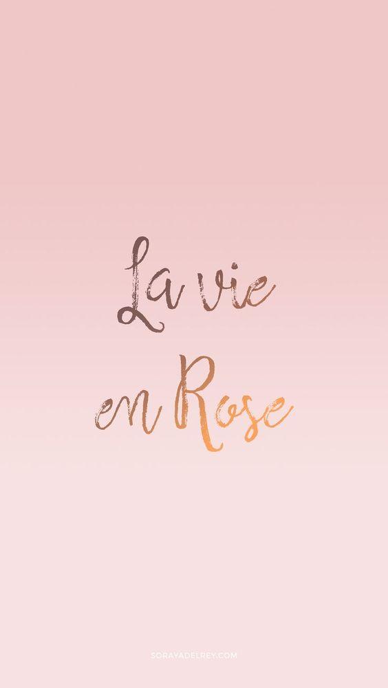Fondo para el móvil rosa #fondo #wallpaper #movil #iphone #android #rosa #lavieenrose #pink #fondomovil