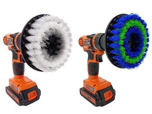 drill brush scrub brush