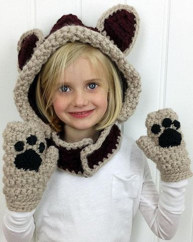 Crochet Patterns For Childrens Animal Hats : Lady, Pictures of and The ojays on Pinterest