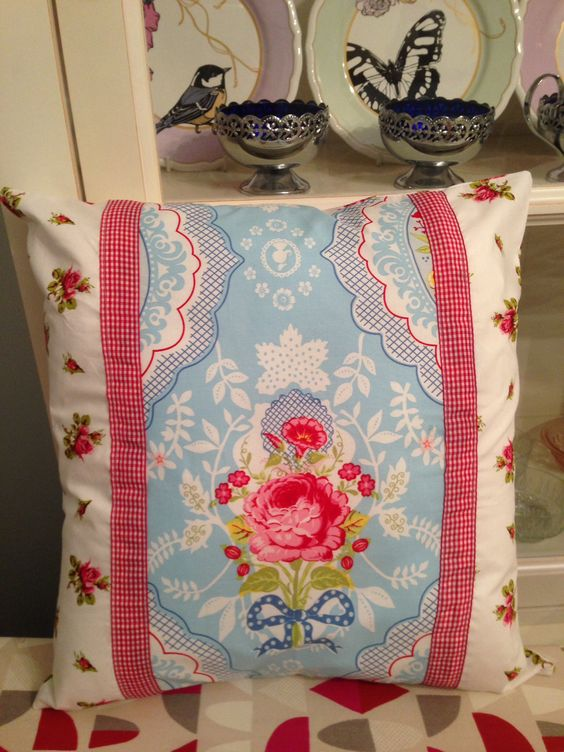 Cushion made from pip studio pillow case and packaging :)