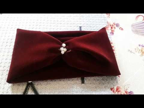 مشروع من البيت بندانات الشعر أسهل عمل بدون ماكنة خياطة Youtube Bows Fashion Bow Bikini
