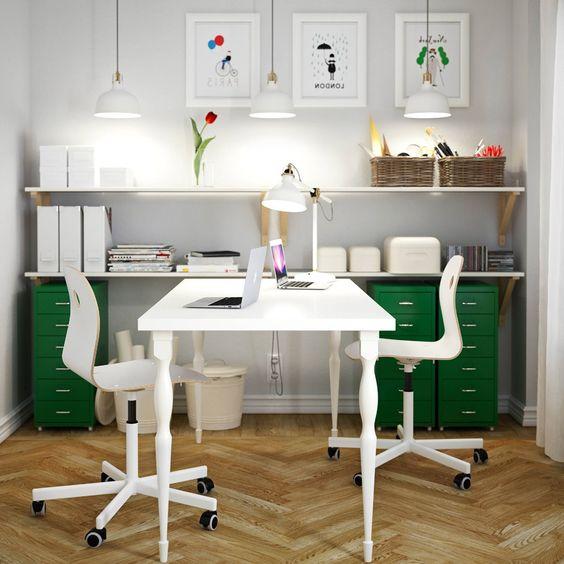 Ikea Home Office Design Ideas: Cool Ikea Office Ideas
