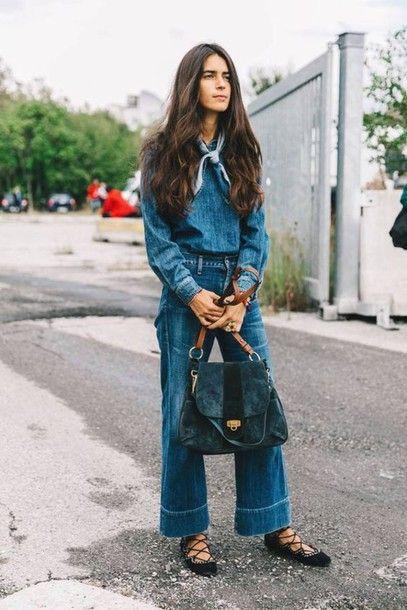 Jacket: flats tumblr blue jeans wide-leg pants denim top blue top bag suede suede bag blue bag lace