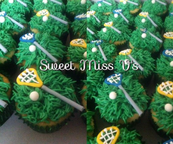 Lyman High School Girls Lacrosse Cupcakes