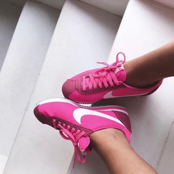 Sneakers femme - Nike Cortez (©bettyautier)