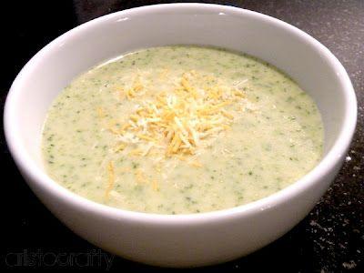Cream of broccoli soup...yum!!