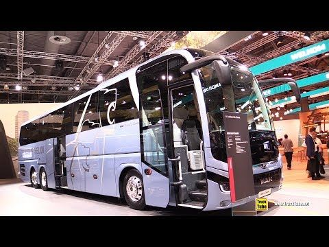 2019 Man Lion S Coach 52 Seat Bus Exterior And Interior Walkaround 2019 Iaa Hannover Youtube Seat Bus Bus Luxury Bus