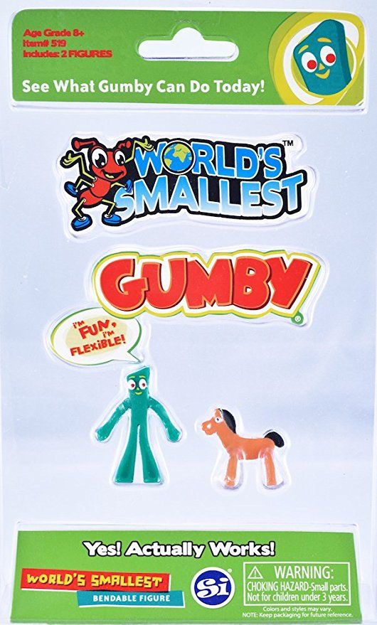 World S Smallest Gumby And Pokey 6 99 At Amazon Com Gumby And