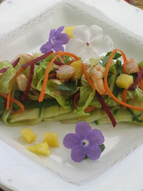 Salade fraîcheur aux Gambas - Patio'nnement cuisine