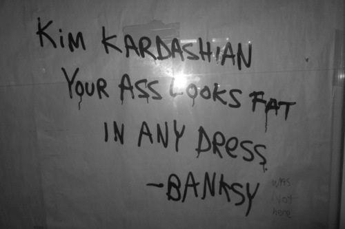 banksy me faz rir