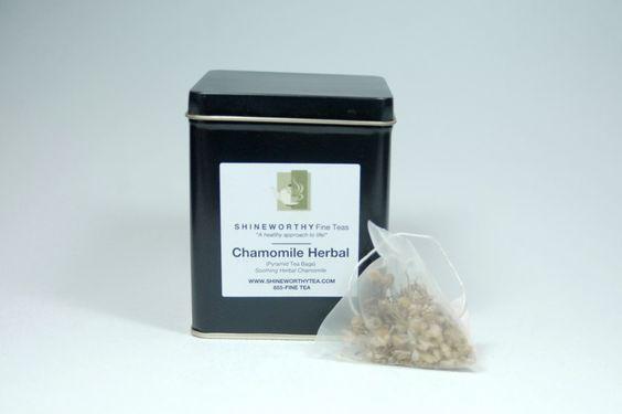 Chamomile Herbal (Pyramid Tea Bags)