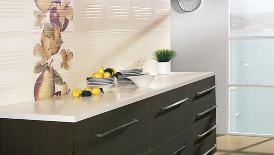 Fruits in your #kitchen #walls =)