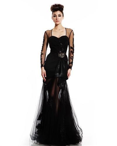 Johnathan Kayne Tule Maxi Dress