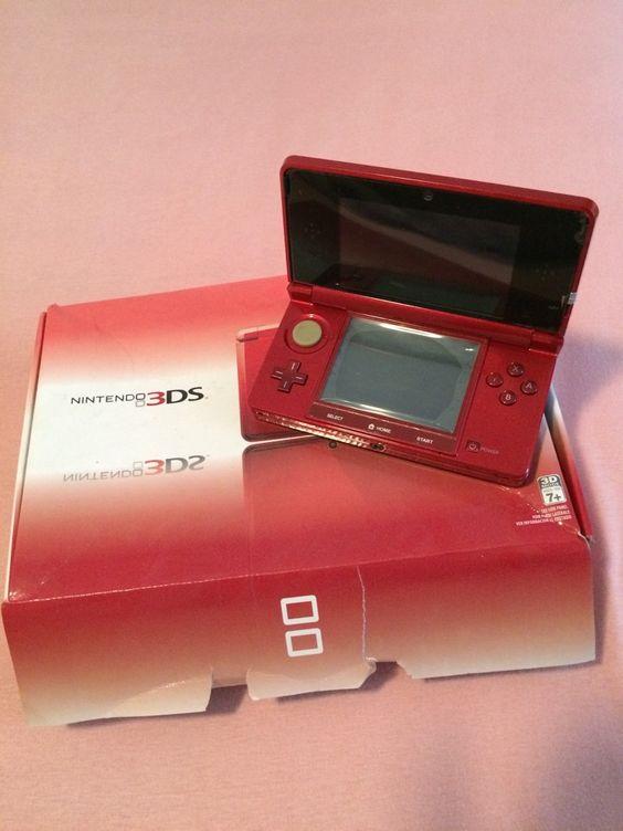 Nintendo 3Ds (prix à discuter) tout neuf à me connecte sur mon compte mail alioudiallo26@yahoo.fr #jeu #console #nintendo #3SD