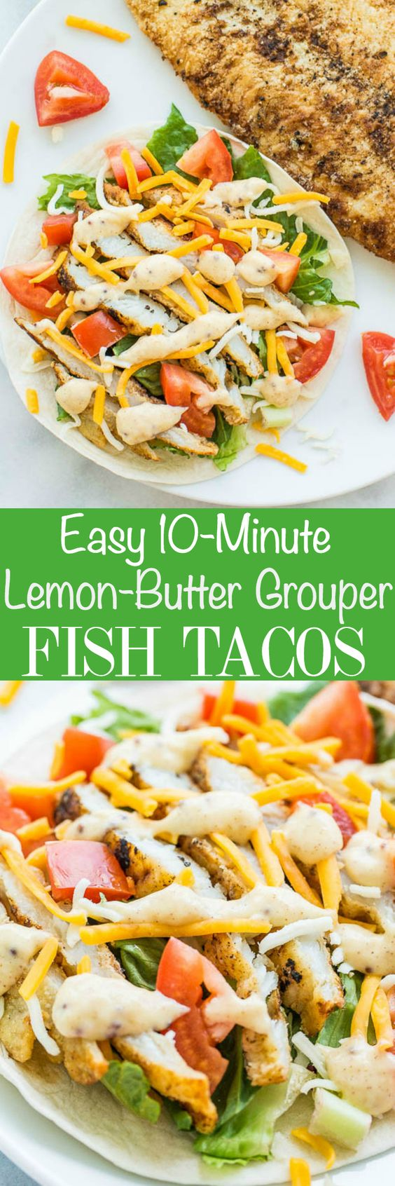 Fish tacos easy fish tacos and honey sauce on pinterest for Simple fish taco recipe
