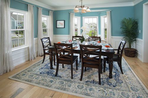 Calming Dining Room #KCH #ManorHomes