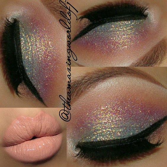 """Gorgeous Pastel Shimmer Make Up from """"The Amazing World of J"""""""
