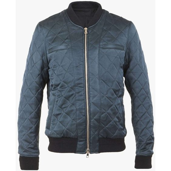 Quilted cotton teddy jacket with badge | Mens lightweight jackets ...