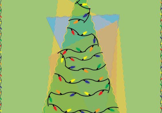 create a Christmas or holiday card by citysafari