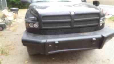 Spec D Projector Headlights Dodge Ram Dual Halo 94 01 Black Or Chrome Housing Dodge Truck Accessories Projector Headlights Dodge Ram