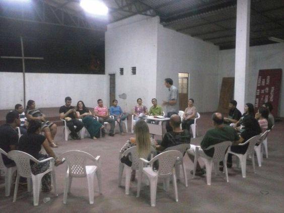 Primeiro Encontro de Casais do IMPF. Em: 26. Julho. 2014 Local: Comunidade Menino Jesus de Praga Bairro: Nova Cidade - Manaus