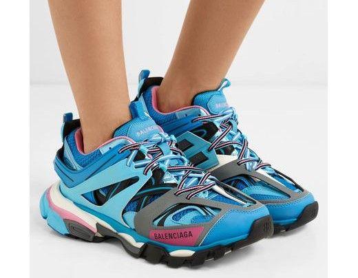 Balenciaga Blue/Pink TRACK Sneaker