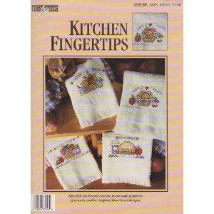 Kitchen Fingertips Counted Cross-Stitch Pattern 83046 [Unknown Binding]  Lorraine Birmingham (Editor)
