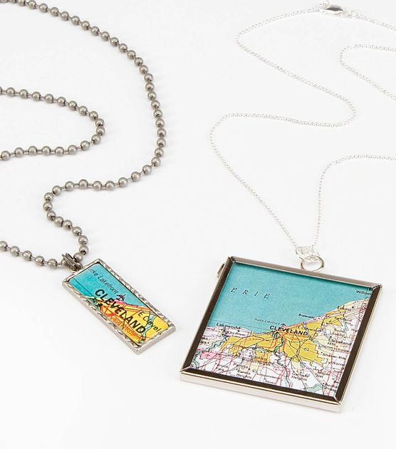 #DIY Hometown Love Necklace #joannhandmade