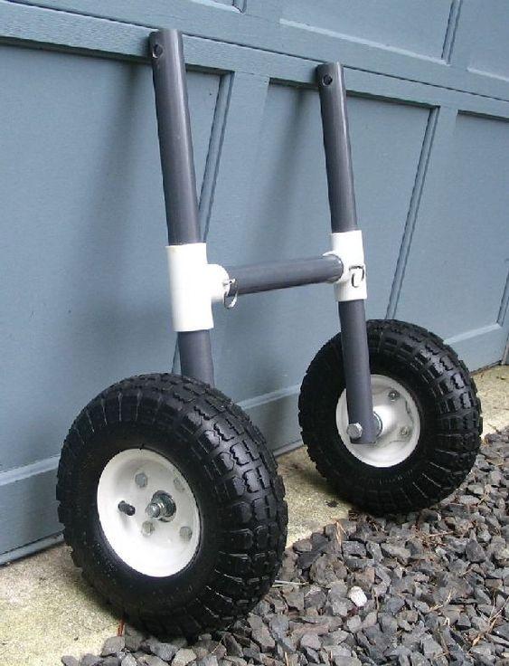 Kayak cart kayaks and search on pinterest for Pvc fishing cart