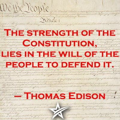 The strength of the Constitution lies in...: