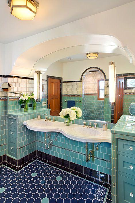 Baths Traditional Spanish Style Bathrooms Home Dream Bathrooms