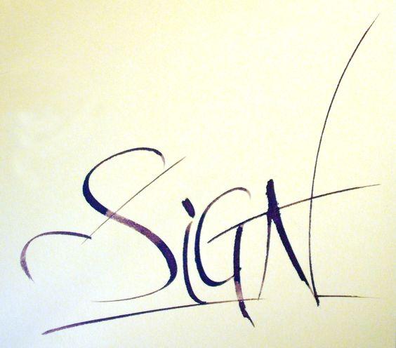 Sign (Gloria)