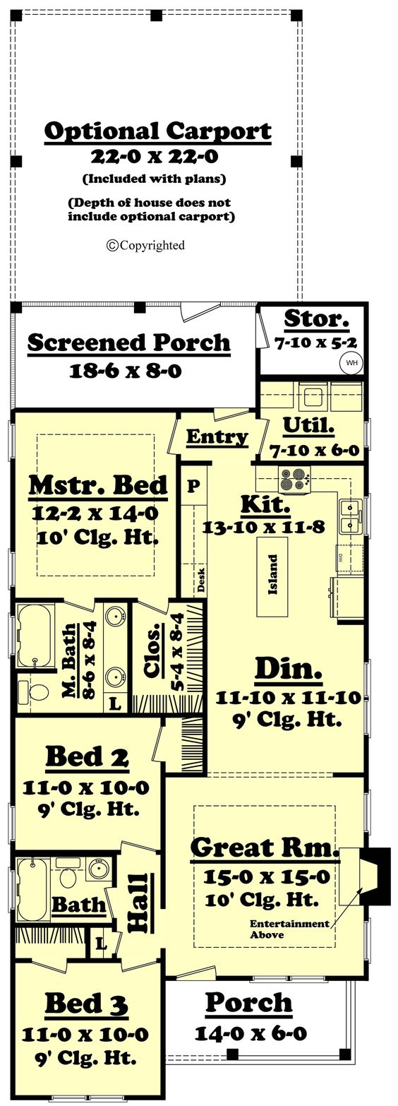 Cottage House Plans Cottage Style House Plan  Baths 1300 Sq Ft Plan