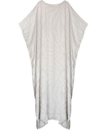 $550 white velvet caftan Dress for the job you want, when the job - how to get the job you want