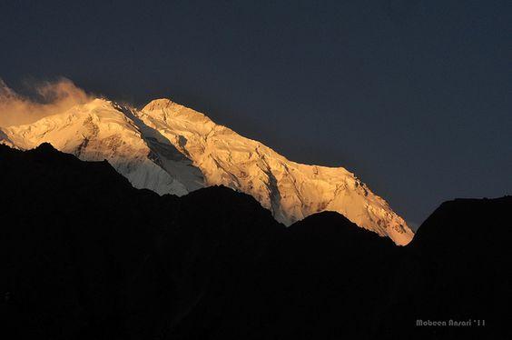 Peak at sunrise. #Pakistan