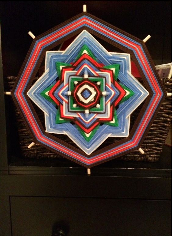 I was inspired by the intricate 'ojo de Dios' (eye of God) work that Jay Mohler (Etsy Shop) has done, and decided to try my hand at making s...