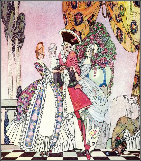 From In Powder and Crinoline _ Kay Nielsen: