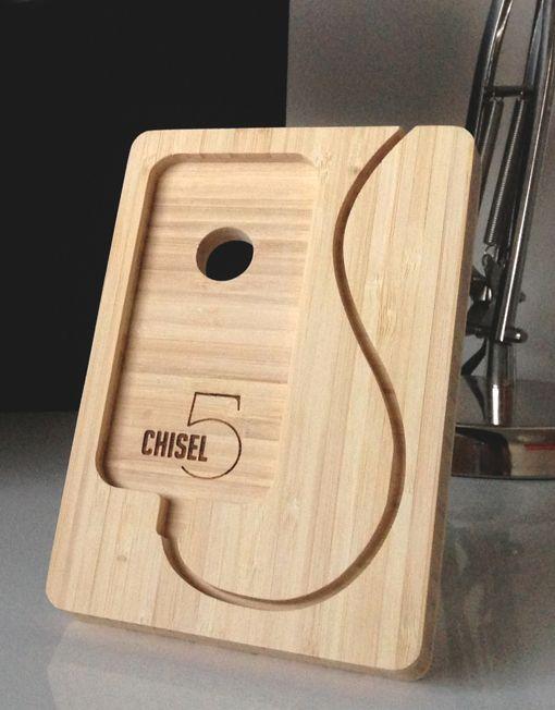 iPhone 5 Dock: For Versions 5, 5s, & 5c €70 via @shopseen