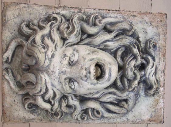 Stone medusa 02 by barefootliam-stock on deviantART