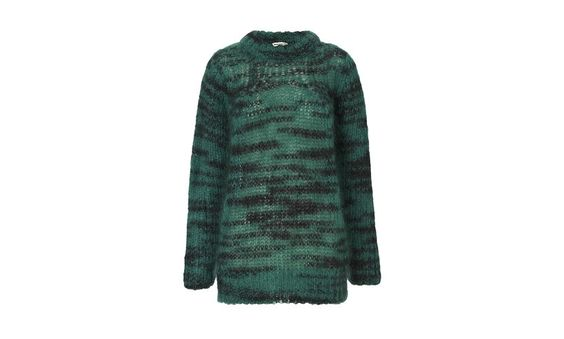 Corinne Space Dyed Mohair Knit $158, down from $225. js