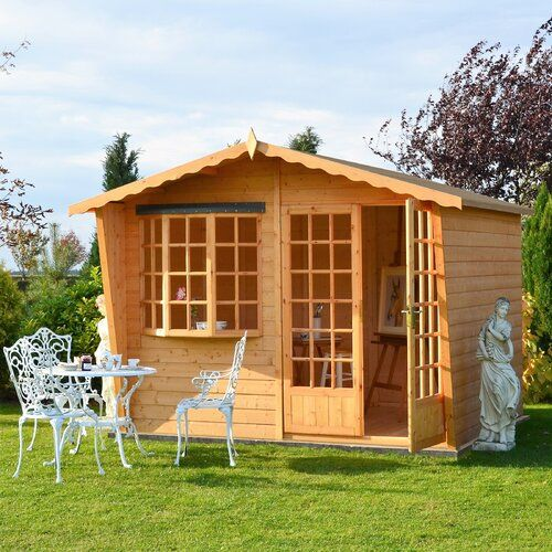 Wirksworth 10 X 6 Ft Shiplap Summer House Lynton Garden Installation Available No Wooden Summer House Summer House Shiplap