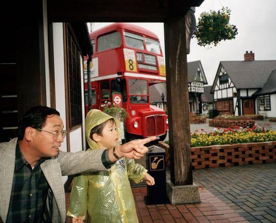JAPAN. Rainbow Village British theme park. 1993