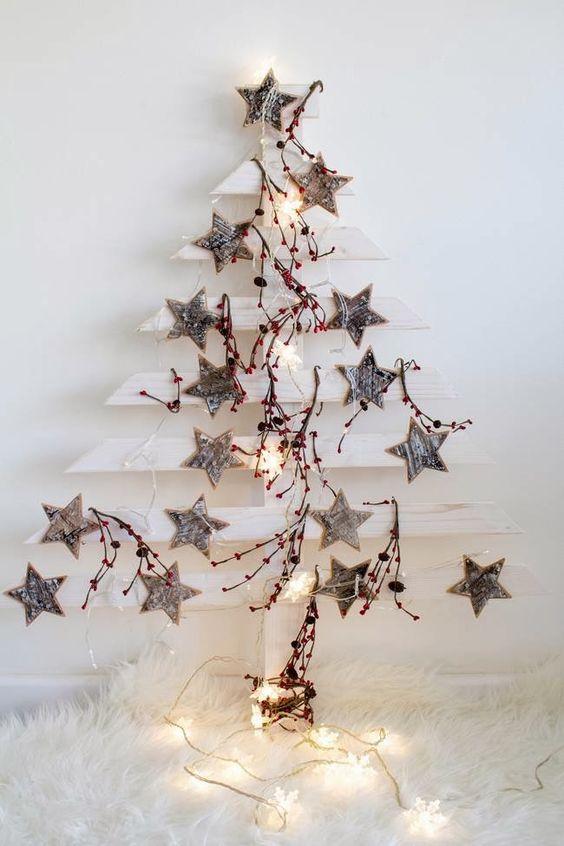 DIY Árbol de Navidad de madera   Video: