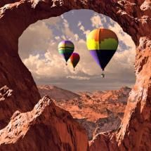 Hot Air through Rock